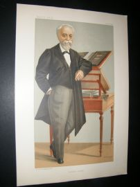 Vanity Fair Print 1898 Eugene Henri Brisson, Legal.